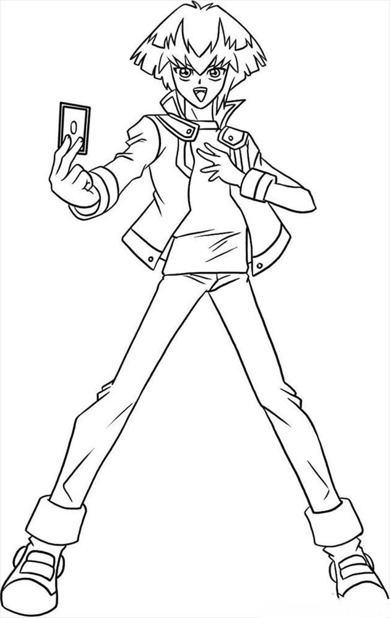 Coloring Pages Of Yugioh free pdf
