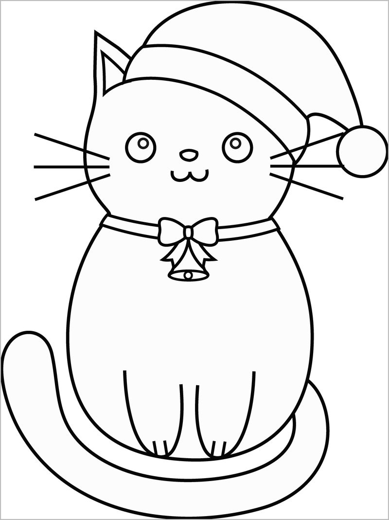 Coloring Pages Siamese Cats