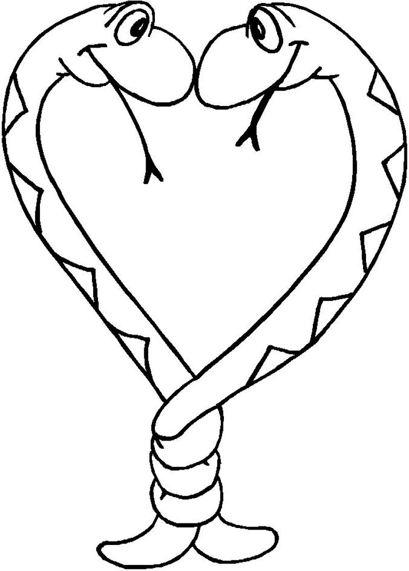 Coloring Pages Snake