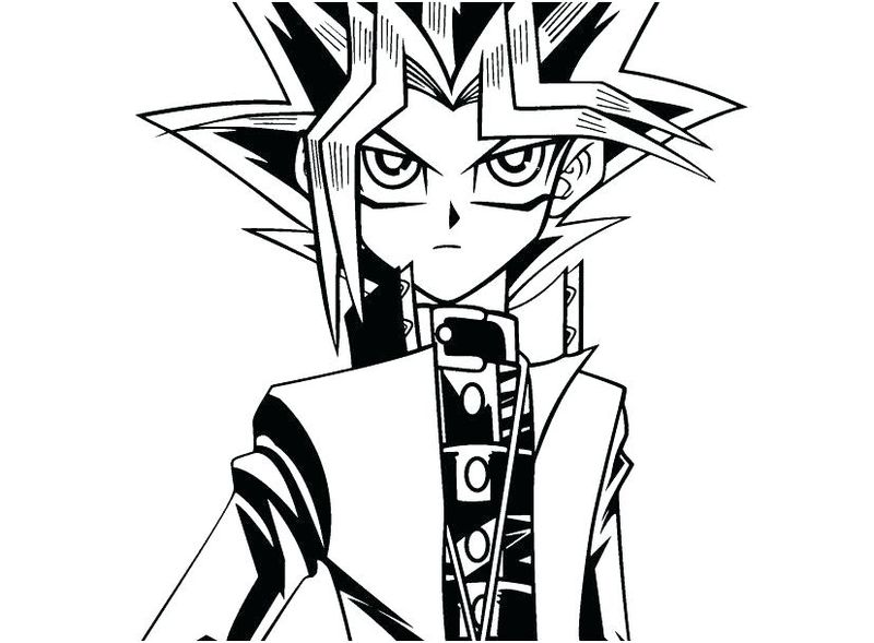Coloring Pages Yu Gi Oh Dragons free
