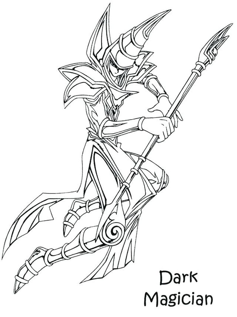 Coloring Pages Yugioh free