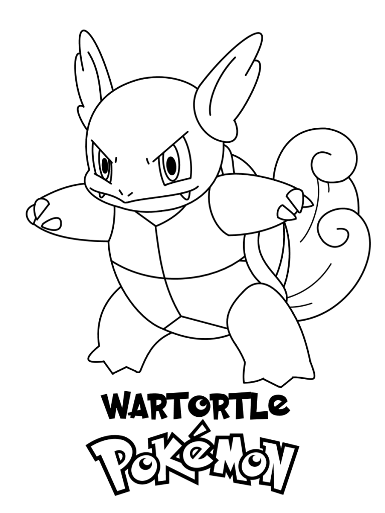 Coloring Pictures Of Pokemon