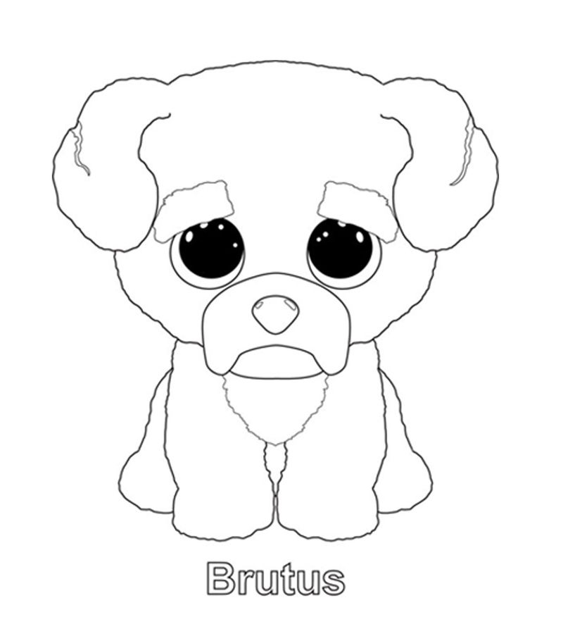 Colouring Pages Labrador Dogs
