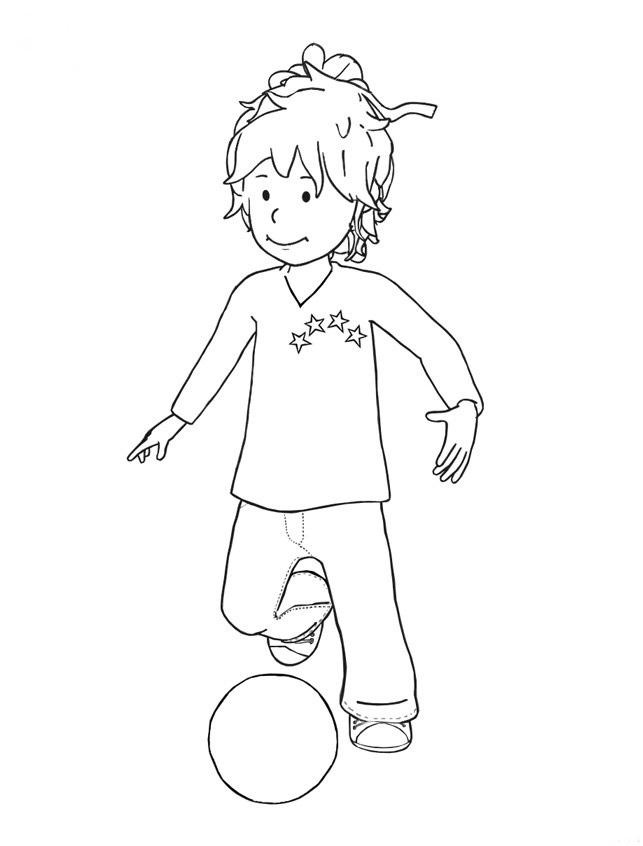 Conni Coloring Pages Pdf