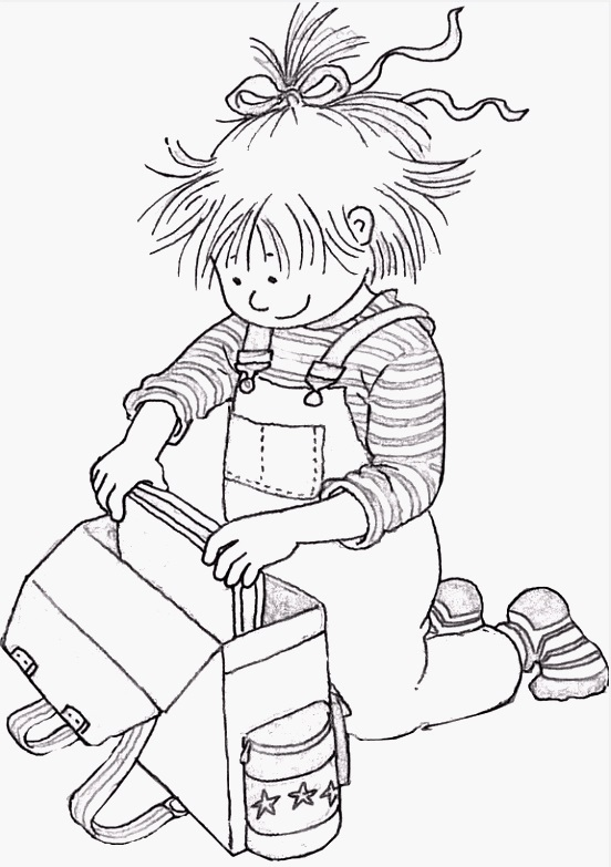Conni Coloring Pages