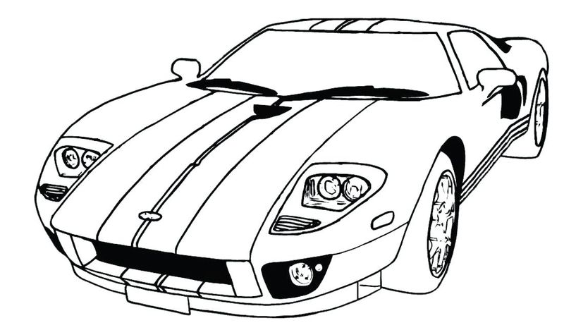 Cool Car Coloring Pages Print