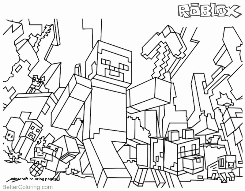 Cool Roblox Coloring Pages
