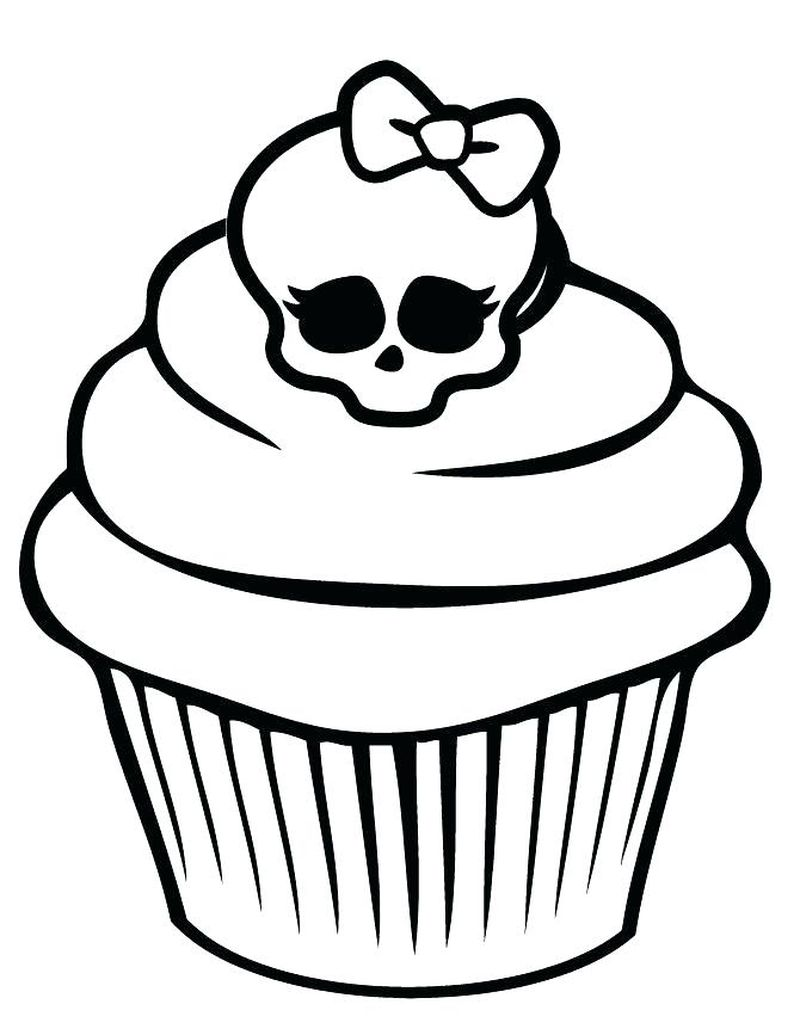 Cupcake Five Nights At Freddys House Coloring Pages
