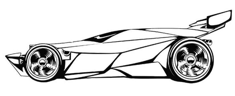 Custom Car Coloring Pages