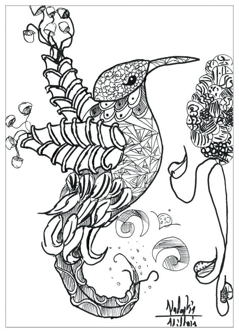 Cute Anime Animals Coloring Pages
