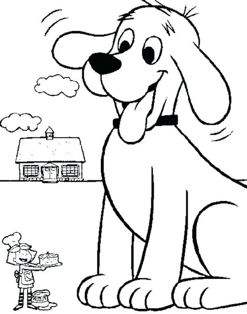 Cute Coloring Pages Of Dogs