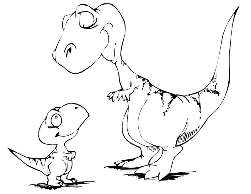 Danny And The Dinosaur Coloring Pages