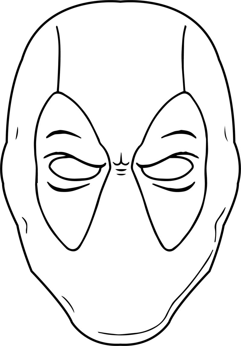 Deadpool Coloring Pages Online