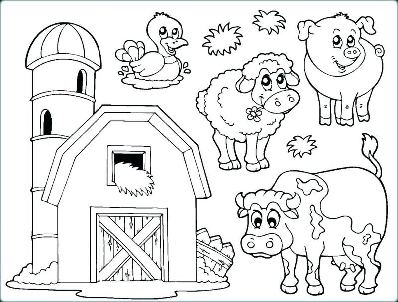 Detailed Coloring Pages Animals