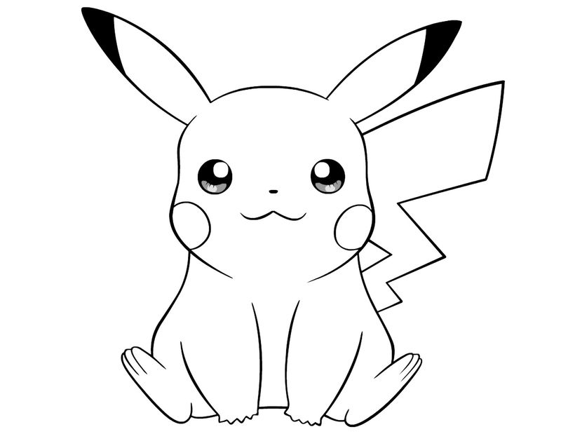 Detective Pikachu Coloring Pages - Printable Coloring ...
