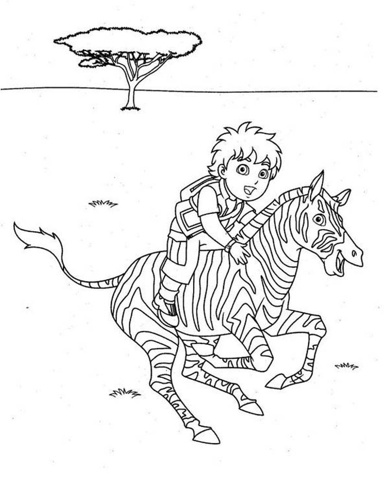 Diego Coloring Pages Nick Jr