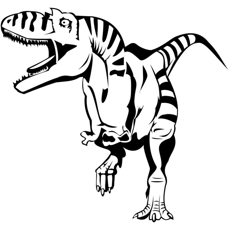 Dinosaur Coloring Pages For Kids Raah
