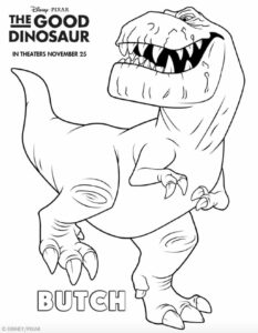 Dinosaur Coloring Pages For Toddlers