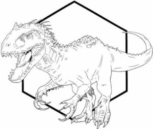 Dinosaur Coloring Pages Free Online
