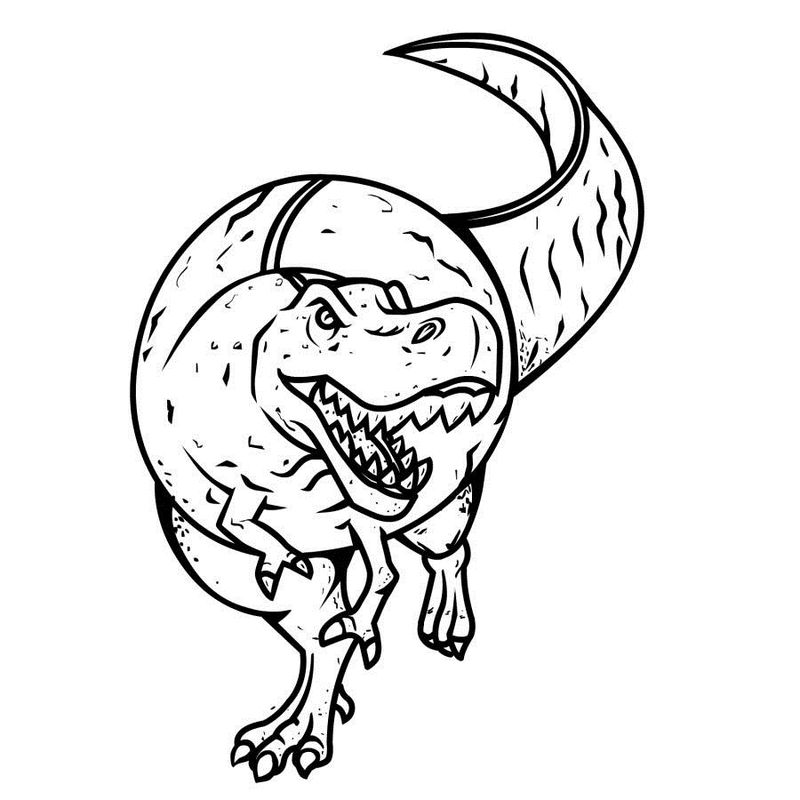 Dinosaur Coloring Pages Free To Print