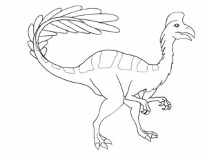 Dinosaur Coloring Pages Online Free