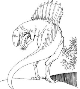Dinosaur Coloring Pages Preschoolers