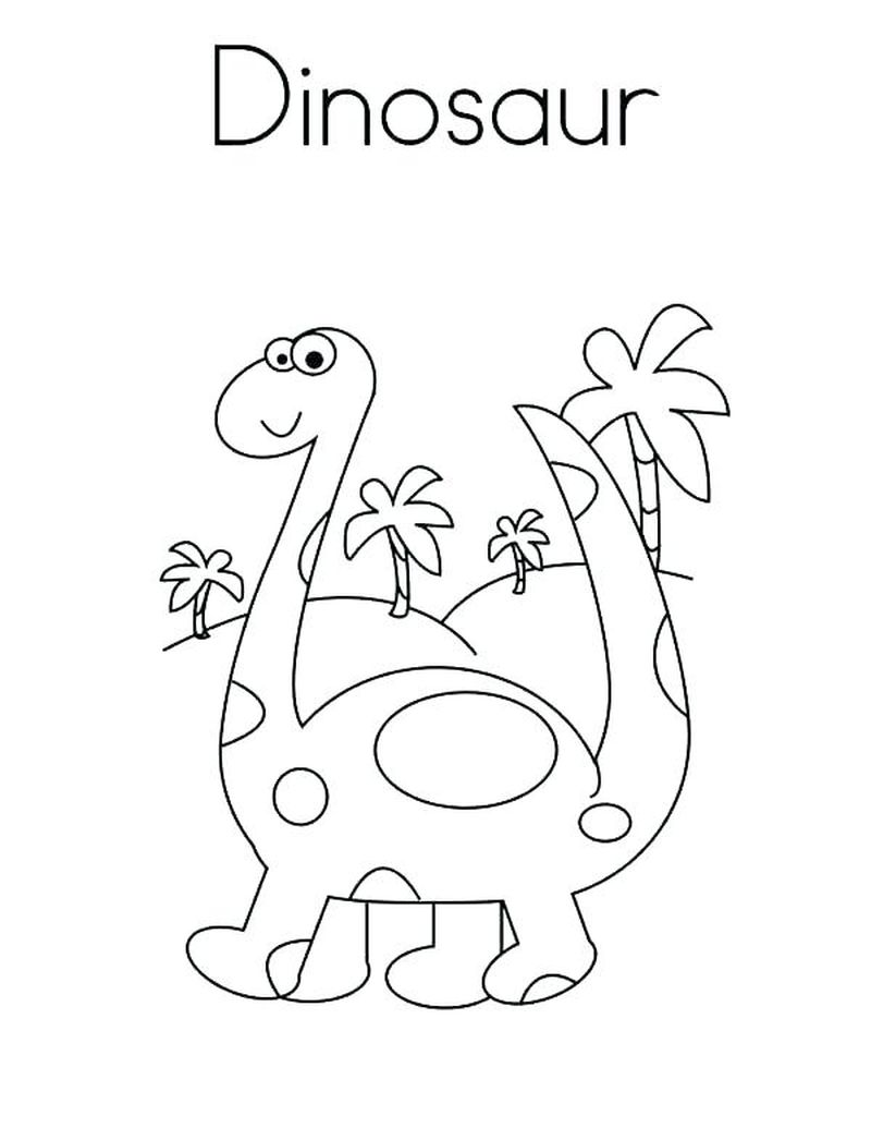 Dinosaur Coloring Pages To Print