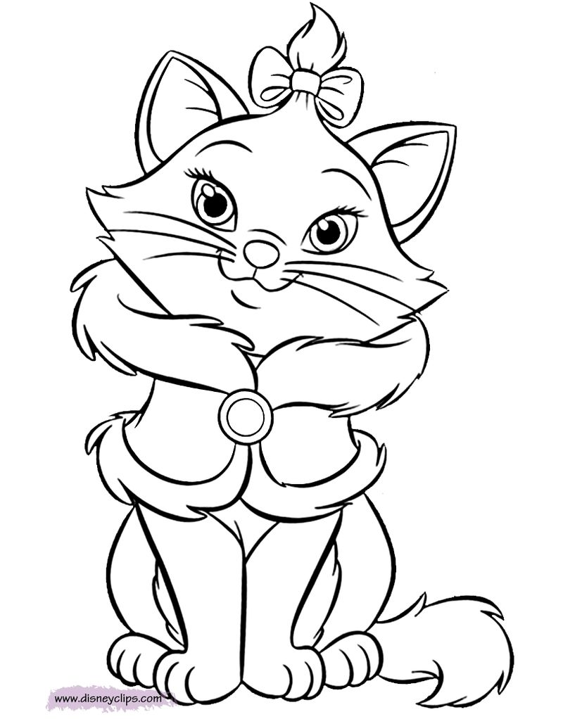Disney Aristocats Coloring Pages