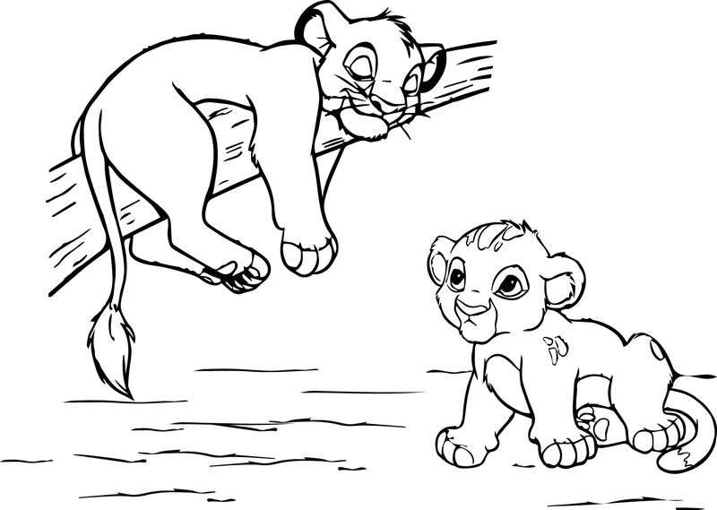 Disney Coloring Pages Lion King 2