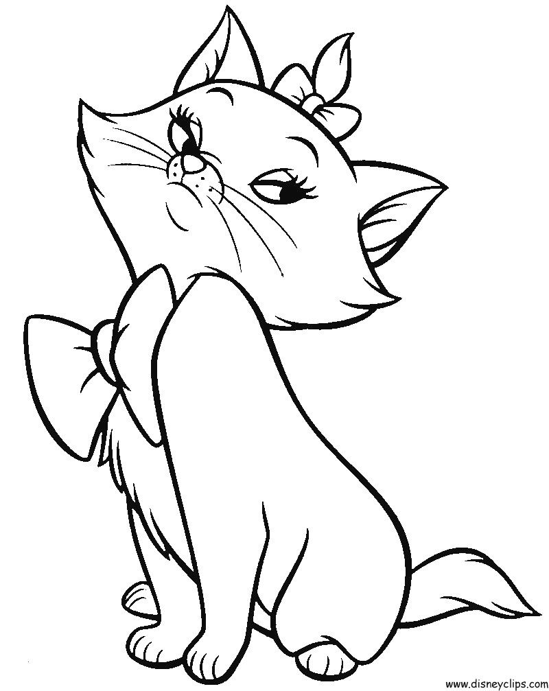 Disneys Aristocats Coloring Pages