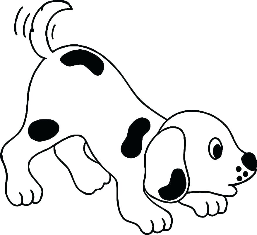 Dog Coloring Pages Printable Free