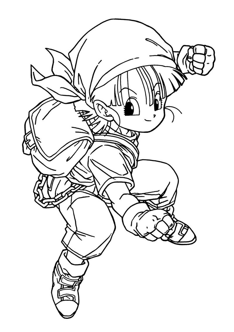 Dragon Ball Coloring Pages Online