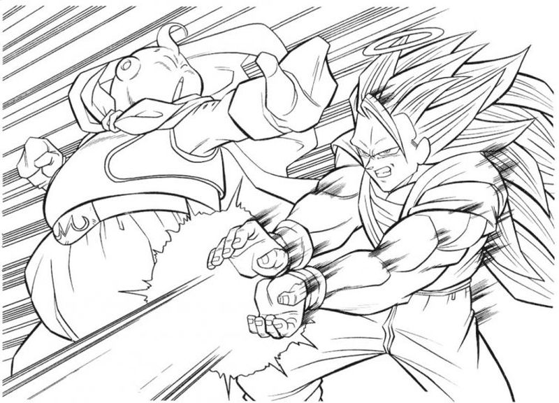 Dragon Ball Coloring Pages Pdf