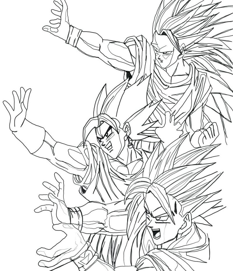 Dragon Ball Coloring Pages Print