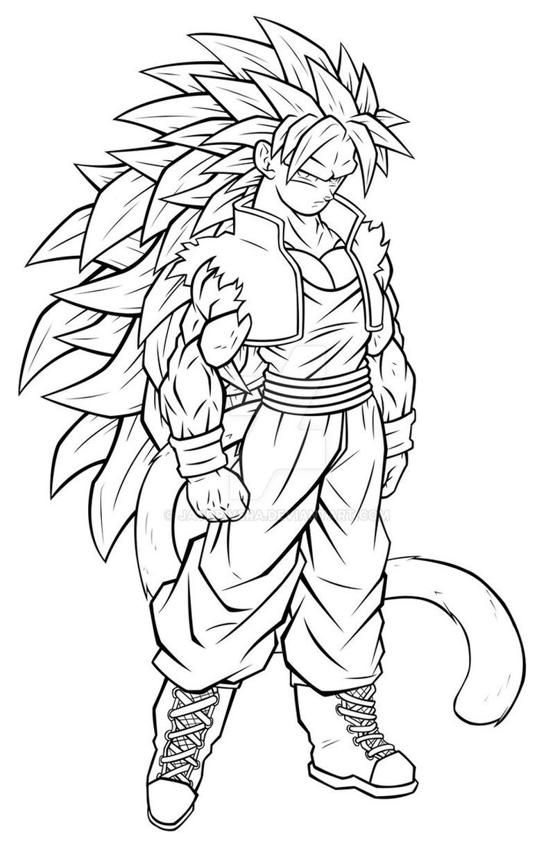 Dragon Ball Heroes Coloring Pages