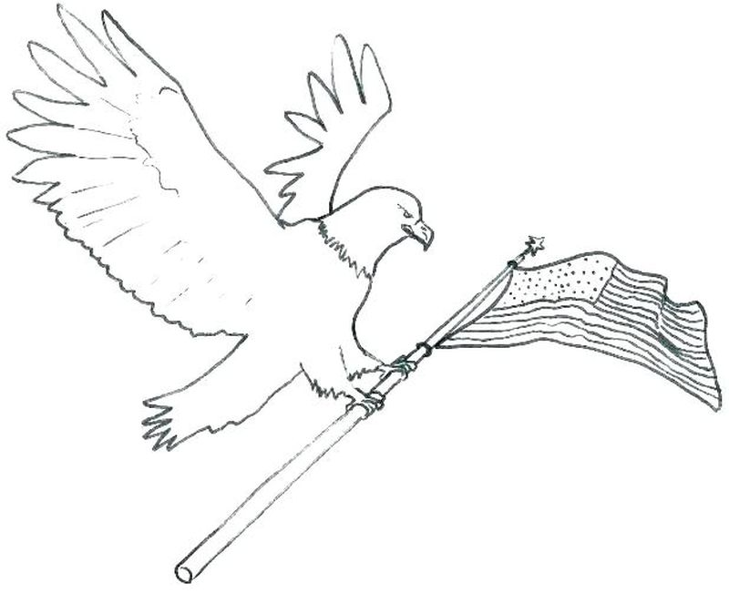 Eagle Colouring Pages To Print