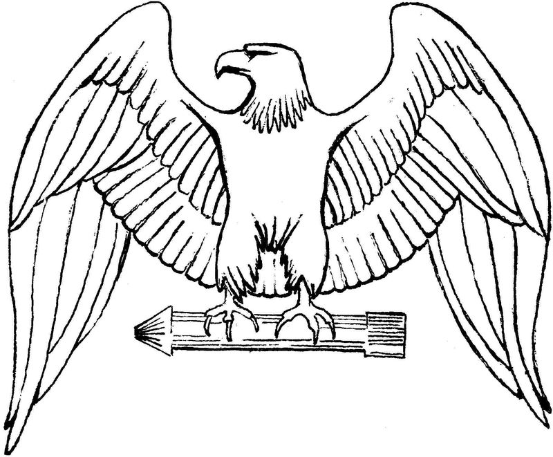 Eagle Pictures Coloring Pages