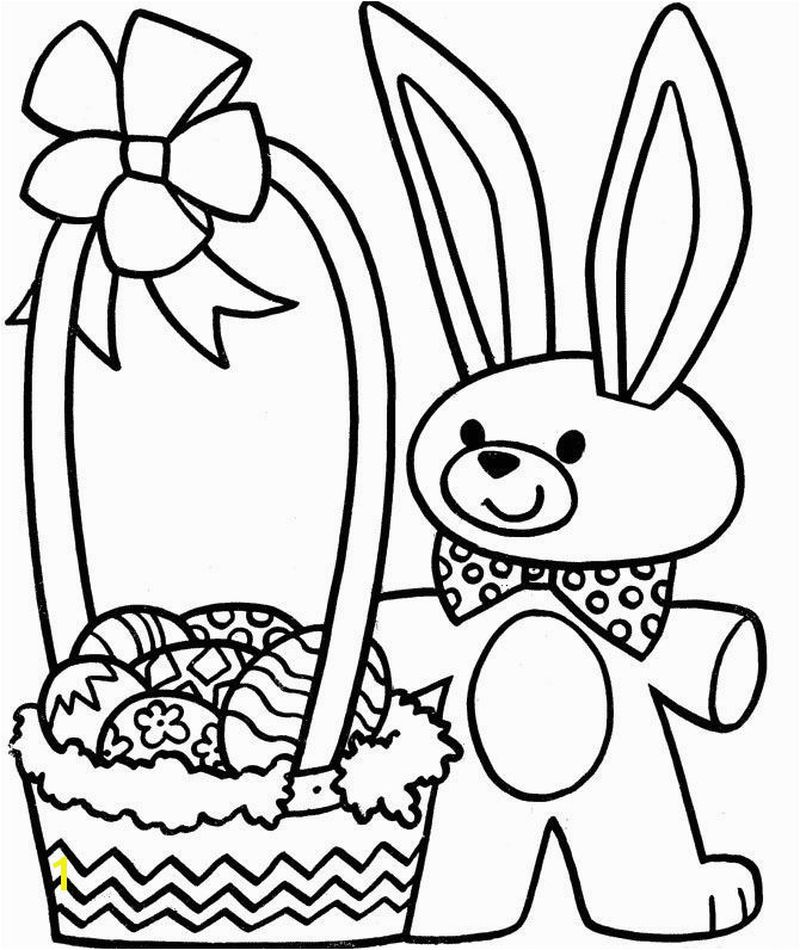 Easter Bunny Coloring Pages Online