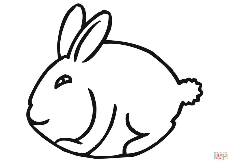 Easter Bunny Colouring In Sheets