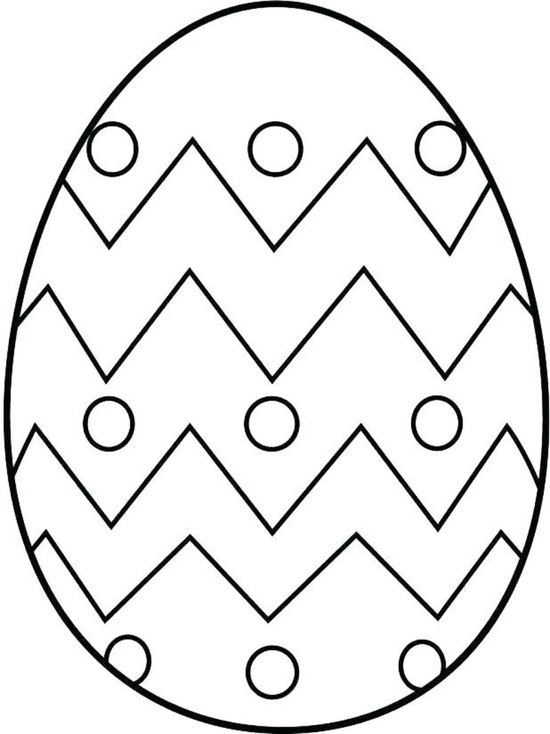 Easter Egg Bunny Coloring Pages