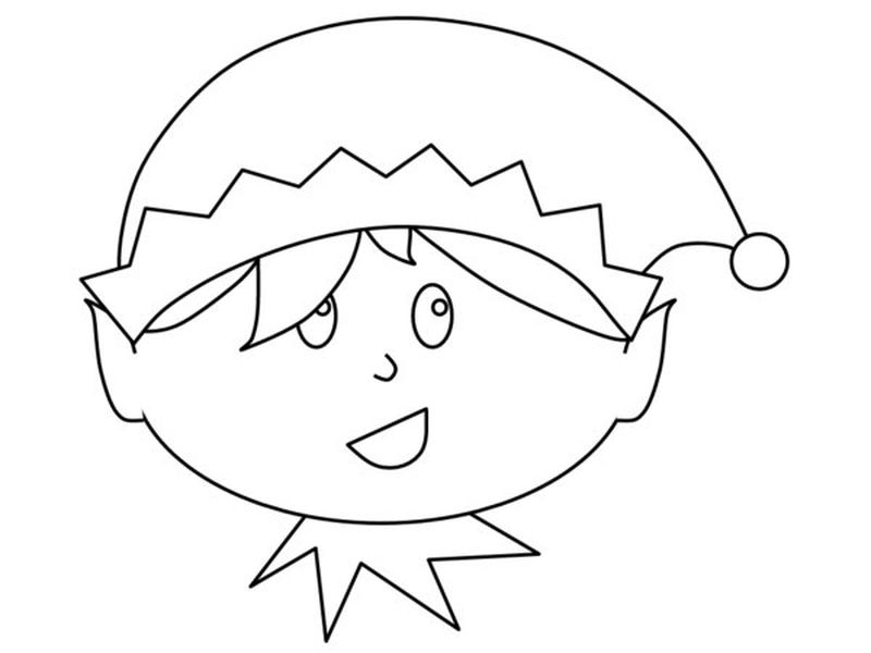 Elf Coloring Pages Free Printable