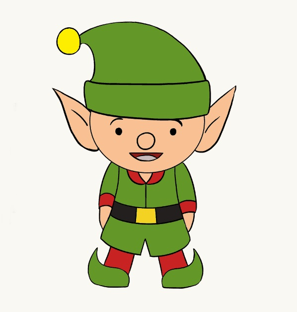 Elf Fairy Coloring Pages