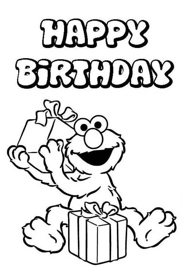 Elmo Coloring Pages Free Pdf
