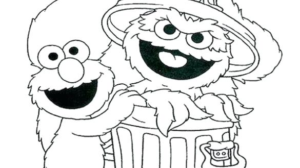 Elmo Coloring Pages Happy Birthday - Printable Coloring ...