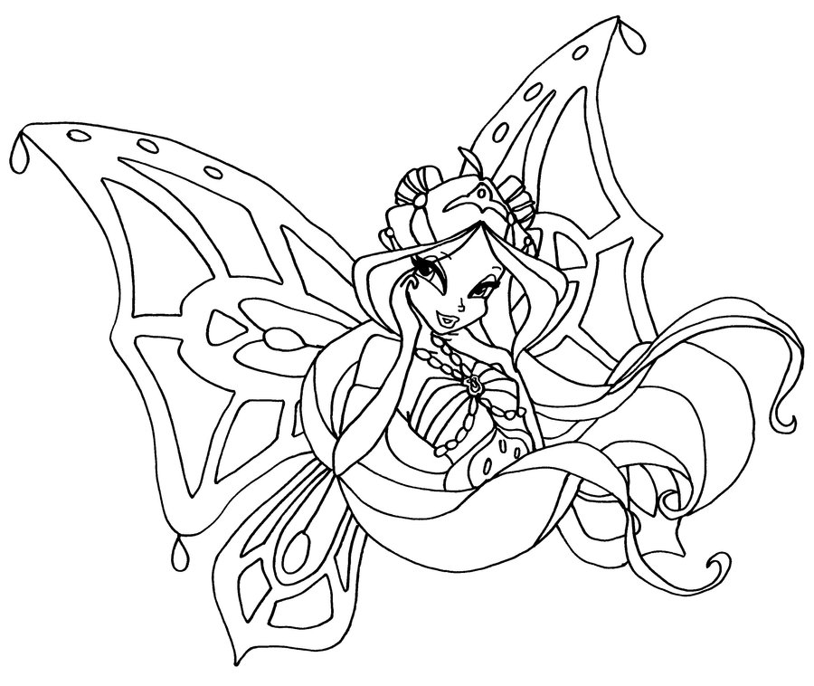 Fairy Coloring Pages For Preschoolers