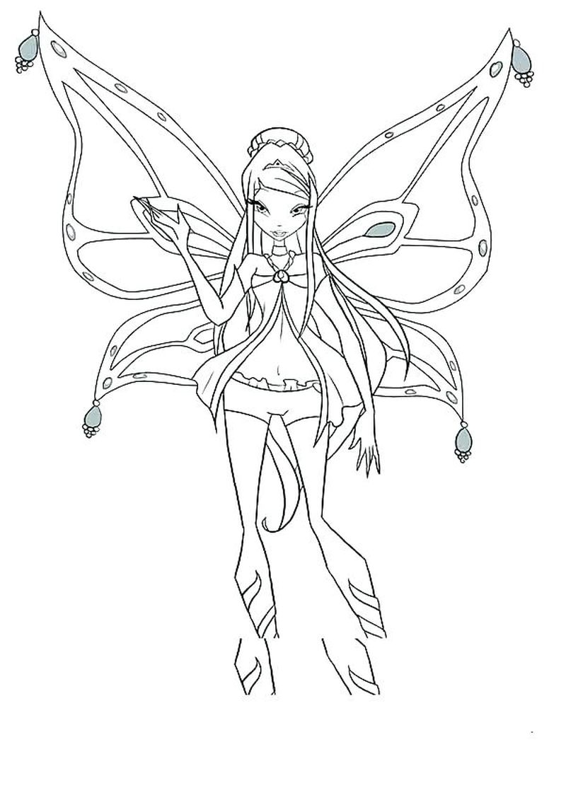 Fairy Winx Coloring Pages