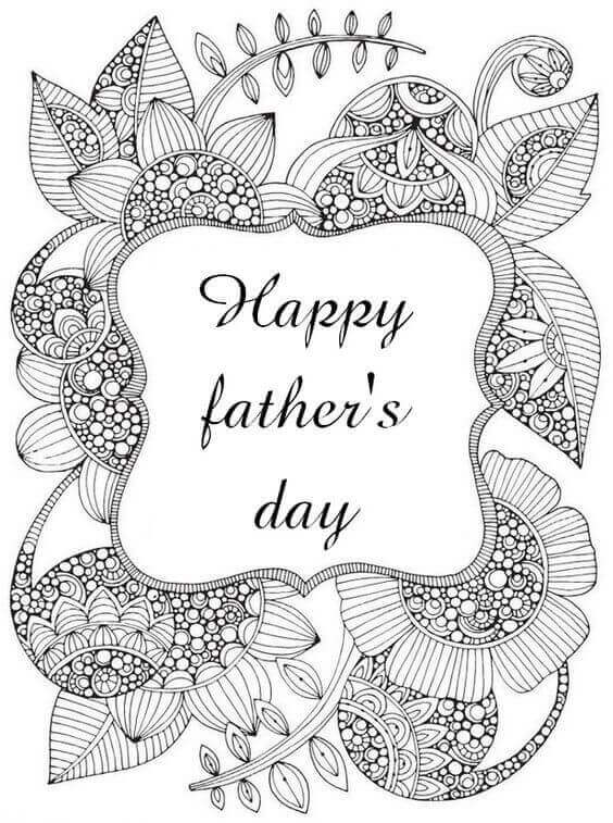 Fathers Day Coloring Pages Christian