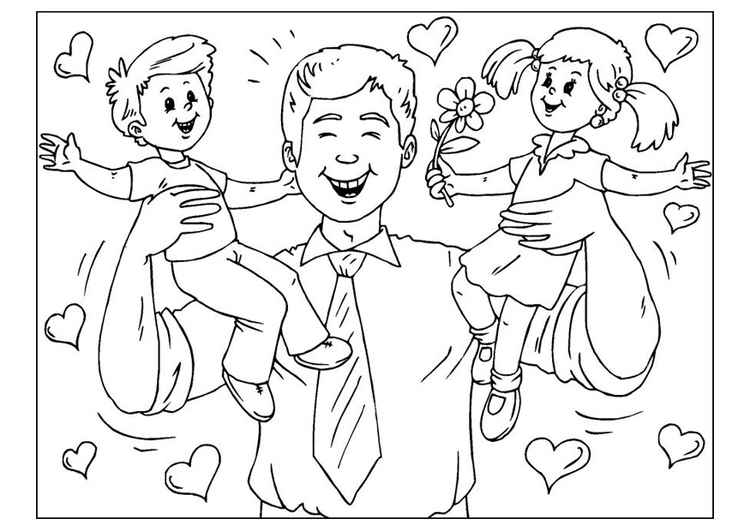 Fathers Day Coloring Pages For Church