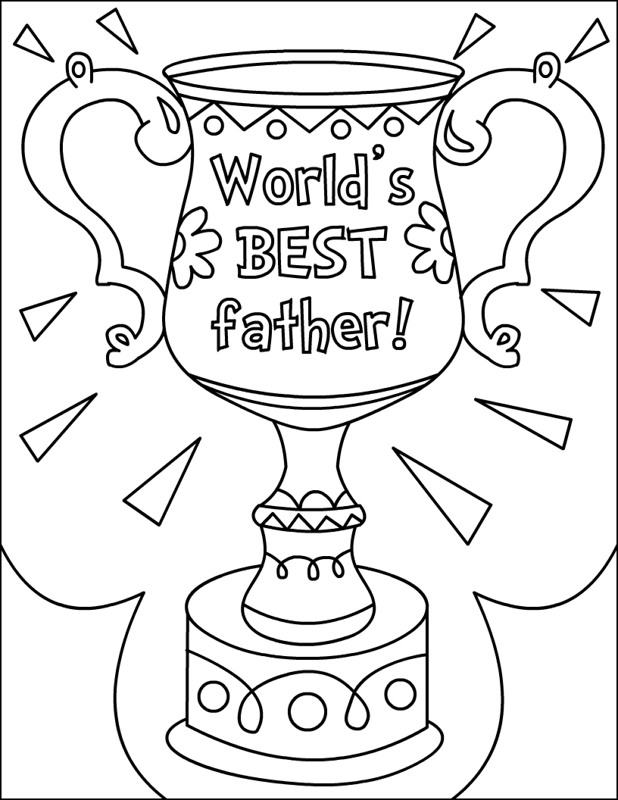 Fathers Day Coloring Pages In Spanish