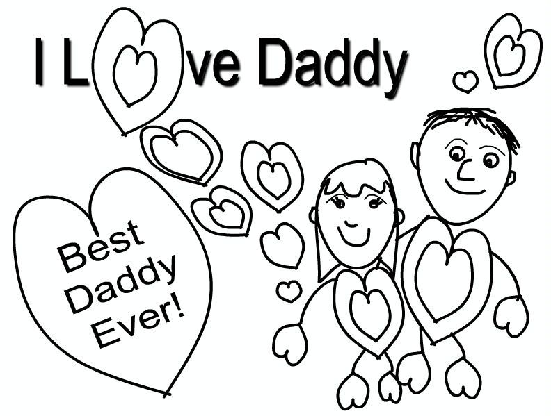 Fathers Day Coloring Pages Religious